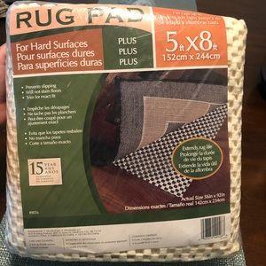 Brand new rug pad